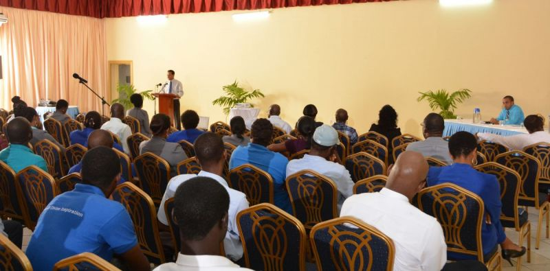 Chairman-of-Board-of-Directors-Mr-Terrance-Forrester-addresses-employees