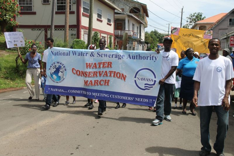 NAWASA-workers-leading-water-conservation-march
