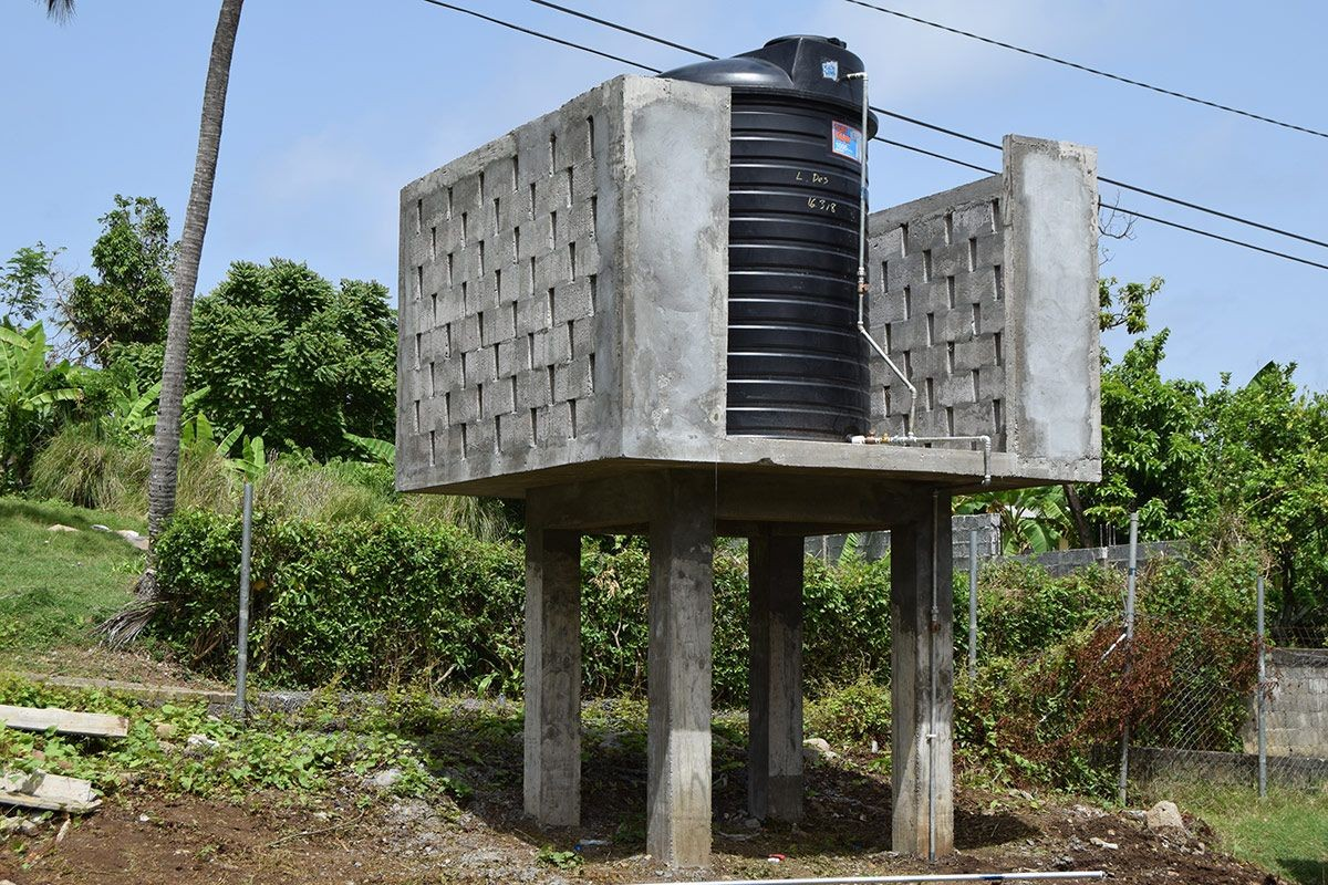 Tanks Installation Completed at Schools across the Island