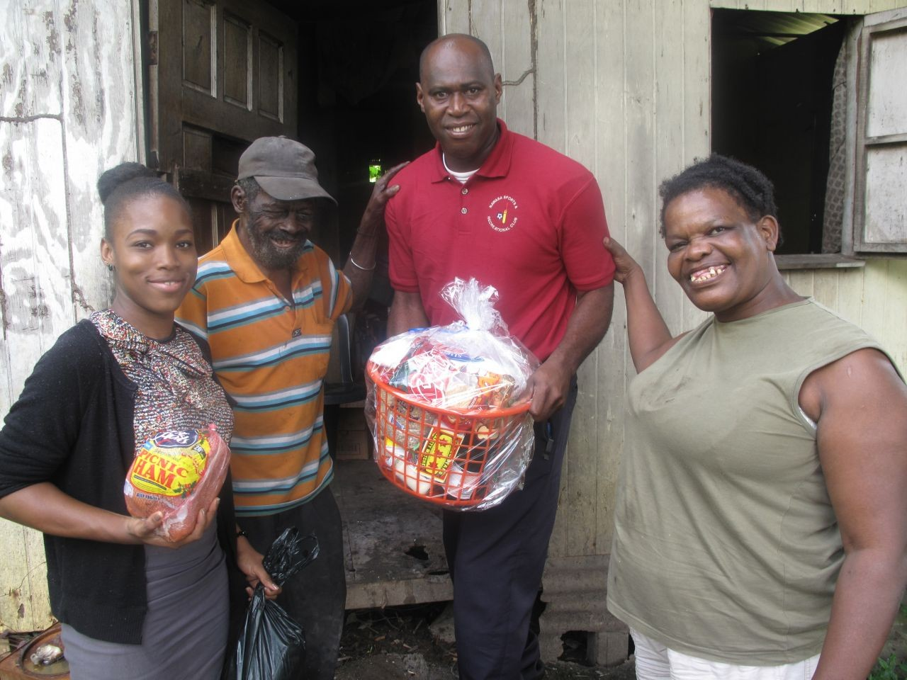 NAWASA Spreads Christmas Cheer with Food Hamper Distribution