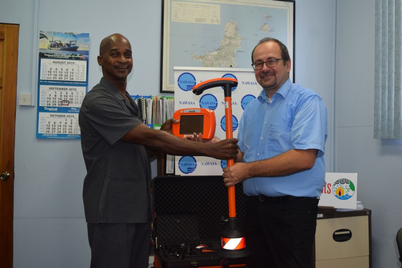 New Leak Detection Equipment for NAWASA